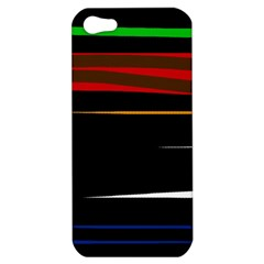 Colorful lines  Apple iPhone 5 Hardshell Case