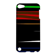 Colorful lines  Apple iPod Touch 5 Hardshell Case