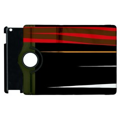 Colorful lines  Apple iPad 3/4 Flip 360 Case