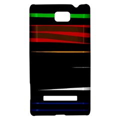 Colorful lines  HTC 8S Hardshell Case