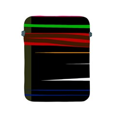 Colorful lines  Apple iPad 2/3/4 Protective Soft Cases
