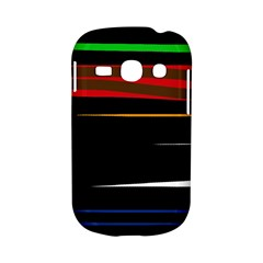 Colorful lines  Samsung Galaxy S6810 Hardshell Case