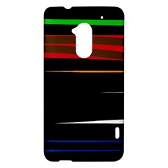 Colorful lines  HTC One Max (T6) Hardshell Case
