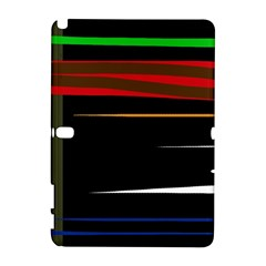 Colorful Lines  Samsung Galaxy Note 10 1 (p600) Hardshell Case
