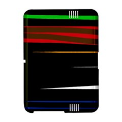 Colorful lines  Amazon Kindle Fire (2012) Hardshell Case
