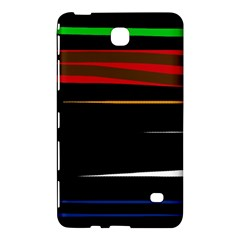 Colorful lines  Samsung Galaxy Tab 4 (7 ) Hardshell Case