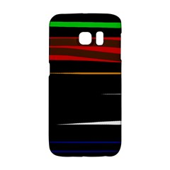 Colorful lines  Galaxy S6 Edge