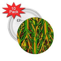 Upside-down forest 2.25  Buttons (10 pack)