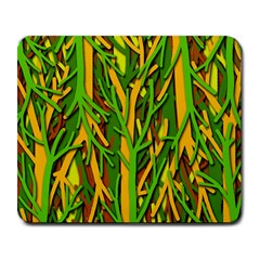 Upside-down forest Large Mousepads