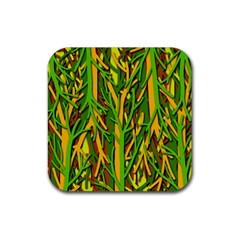 Upside-down forest Rubber Square Coaster (4 pack)