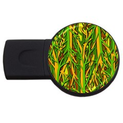 Upside-down forest USB Flash Drive Round (2 GB)