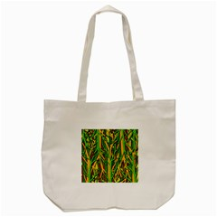 Upside-down forest Tote Bag (Cream)