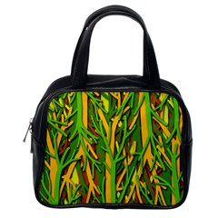 Upside-down forest Classic Handbags (One Side)