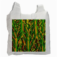 Upside-down forest Recycle Bag (One Side)