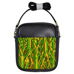 Upside-down forest Girls Sling Bags