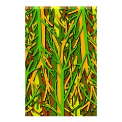 Upside-down forest Shower Curtain 48  x 72  (Small)