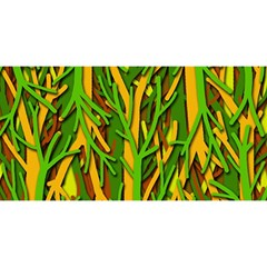 Upside-down forest YOU ARE INVITED 3D Greeting Card (8x4)