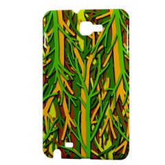 Upside-down forest Samsung Galaxy Note 1 Hardshell Case