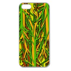 Upside-down forest Apple Seamless iPhone 5 Case (Clear)