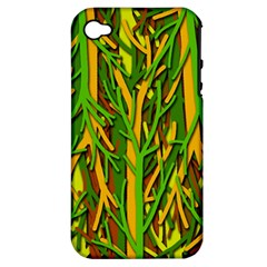Upside-down forest Apple iPhone 4/4S Hardshell Case (PC+Silicone)