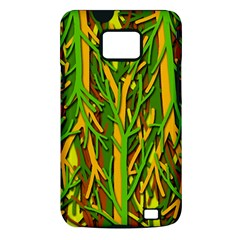 Upside-down forest Samsung Galaxy S II i9100 Hardshell Case (PC+Silicone)