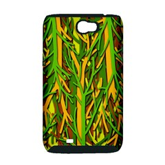 Upside-down forest Samsung Galaxy Note 2 Hardshell Case (PC+Silicone)