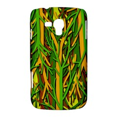 Upside-down forest Samsung Galaxy Duos I8262 Hardshell Case