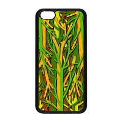 Upside-down forest Apple iPhone 5C Seamless Case (Black)