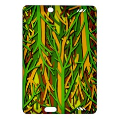 Upside-down forest Amazon Kindle Fire HD (2013) Hardshell Case
