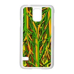 Upside-down forest Samsung Galaxy S5 Case (White)