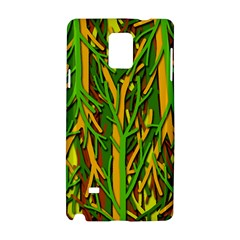 Upside-down forest Samsung Galaxy Note 4 Hardshell Case