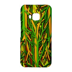 Upside-down forest HTC One M9 Hardshell Case
