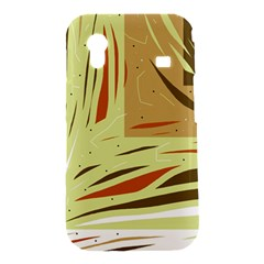 Brown decorative design Samsung Galaxy Ace S5830 Hardshell Case