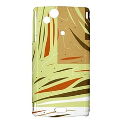 Brown decorative design Sony Xperia Arc