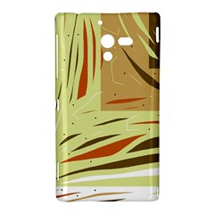 Brown decorative design Sony Xperia ZL (L35H)