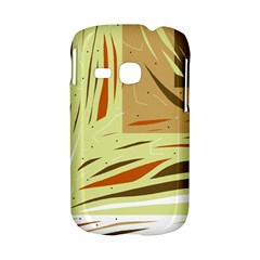 Brown decorative design Samsung Galaxy S6310 Hardshell Case
