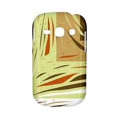 Brown decorative design Samsung Galaxy S6810 Hardshell Case
