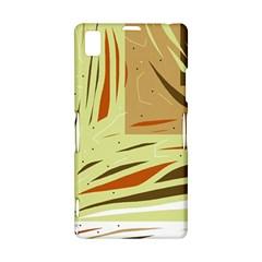 Brown decorative design Sony Xperia Z1