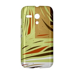 Brown decorative design Motorola Moto G