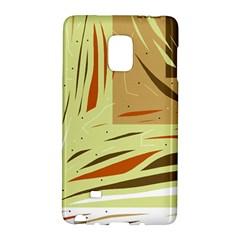 Brown decorative design Galaxy Note Edge
