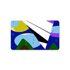 Paper airplane Magnet (Name Card)