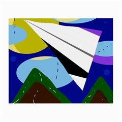 Paper airplane Small Glasses Cloth (2-Side)