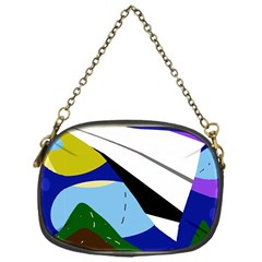 Paper airplane Chain Purses (One Side)