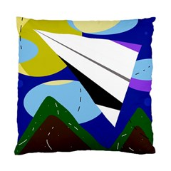 Paper airplane Standard Cushion Case (Two Sides)