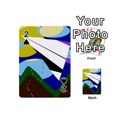 Paper airplane Playing Cards 54 (Mini)