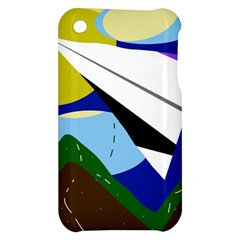 Paper airplane Apple iPhone 3G/3GS Hardshell Case