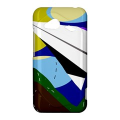 Paper airplane HTC Droid Incredible 4G LTE Hardshell Case