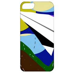 Paper airplane Apple iPhone 5 Classic Hardshell Case