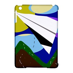 Paper airplane Apple iPad Mini Hardshell Case (Compatible with Smart Cover)