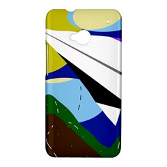 Paper airplane HTC One M7 Hardshell Case